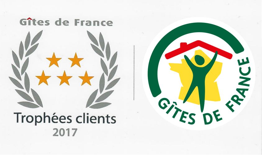 Trophée Clients 2017 de Gîtes de France – Le Clos des Péziers